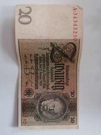 Ładne marki niemieckie 1929r.