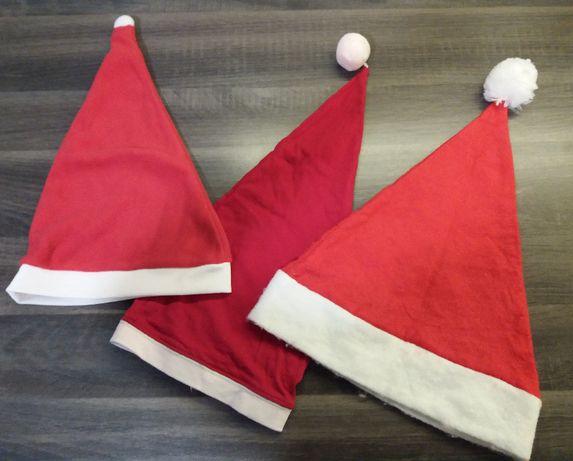 Czapka strój Mikołaja Śnieżynki jasełka święta przebranie karnawał bal