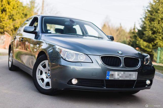 BMW 5 e60 520i benzyna 2.2 170 KM