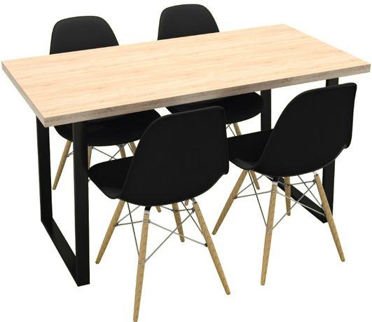 Stół Stolik Ława LOFT Industrialna duża 136cm x 66cm PRODUCENT