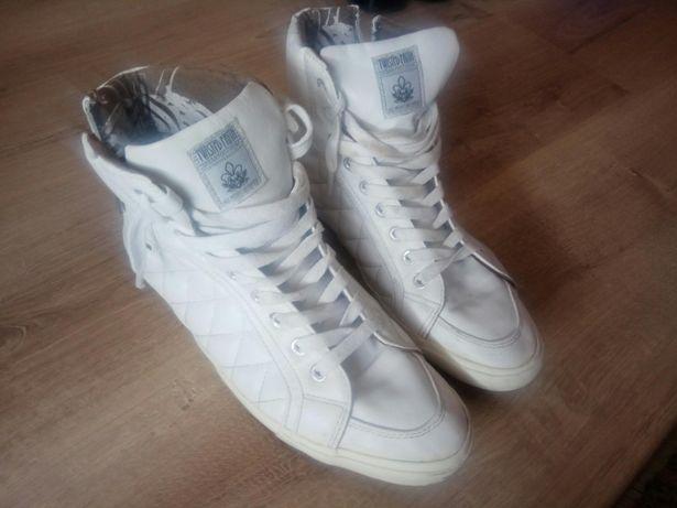 Buty High Białe