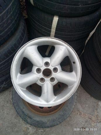 Оригинальный диск VW R16 5x112 7Jx16H2 ET59 BBS 7M0 601 025G Germany