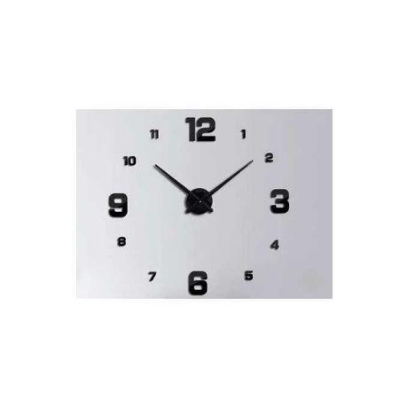 Zegar Ścienny czarny 4 duże cyfry NOWY