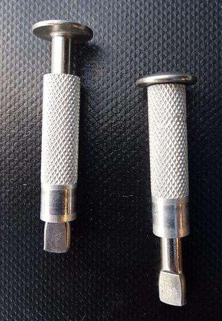 Pernes / piton em aço inox para cobertura piscina