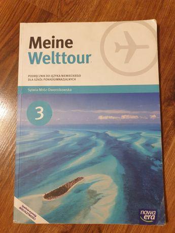 """Podręcznik do języka niemieckiego """"Meine Welttour 3"""""""