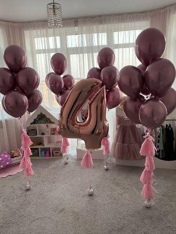 Фольгированные шары. Гелиевые воздушные шарики. Цифры, герои, животные