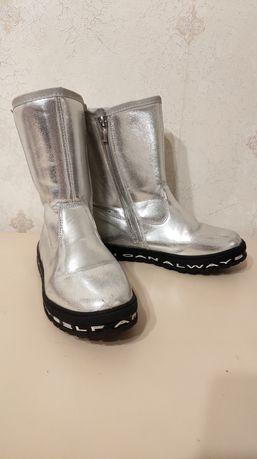 Теплые сапоги ботинки