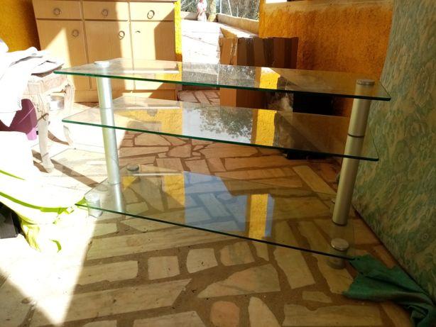 Mesa de sala em vidro