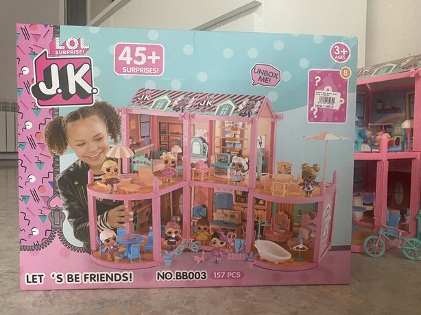 Дом кукла лол