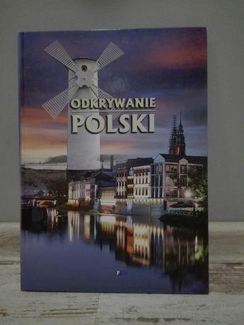 Książka odkrywanie Polski