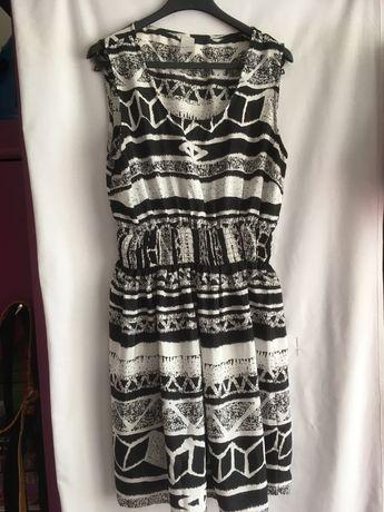 Mega sukienka zwiewna na lato w rozmiarze 40
