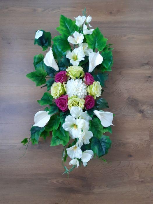 Stroik ze sztucznych kwiatów Szkudła - image 1