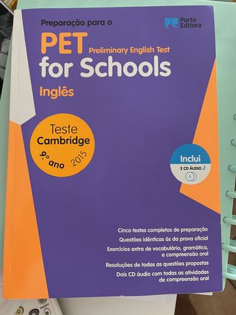 Livro preparação para os testes de inglês 9*ano