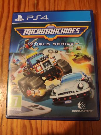 ps4 ps5 Micromachines World Series płyta ps 4 ps 5 playStation 4 5
