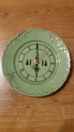 Zegar porcelanowy ĆMIELÓW