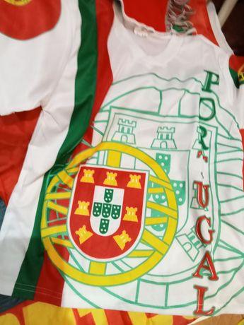 Camisola de Portugal crianças novas
