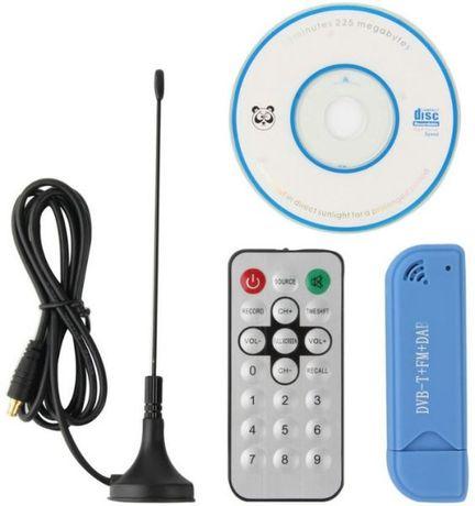 TUNER DVB-T, Dab, FM Nowy 100% RTL SDR R2832U