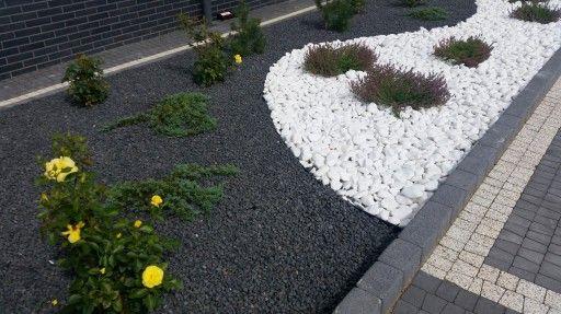 GRYS Grafitowy czarny bazalt kamień ogród