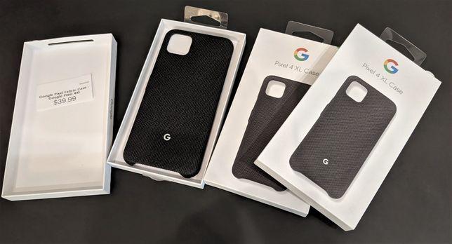 Чехол Новый Google Pixel 4 4 XL Just Black Fabric Case Чёрный 4XL
