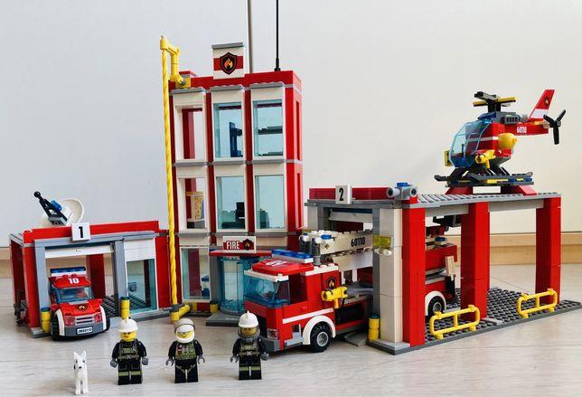 Оригинальное лего сити-Пожарный участок
