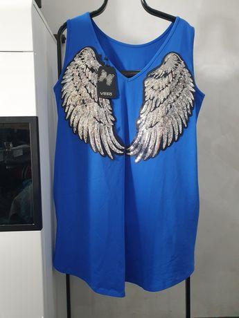 Tunika sukienka ze skrzydłami uniwers