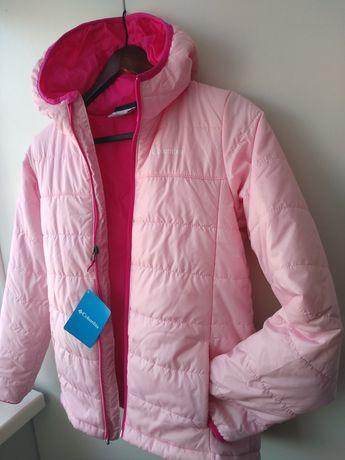 Куртка Columbia рожевого кольору, на дівчину 12-14 років.