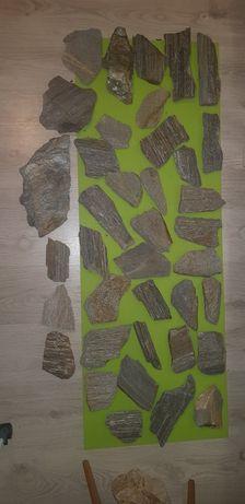 Kamień łupek łyszczykowy akwarium