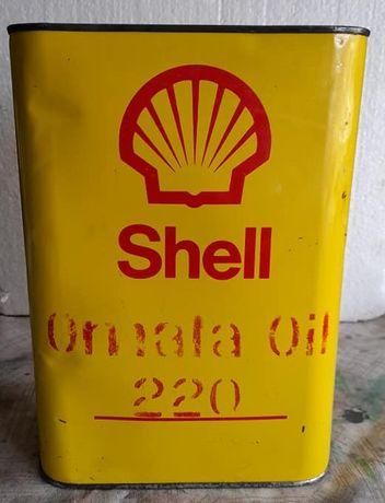 Lata de óleo shell