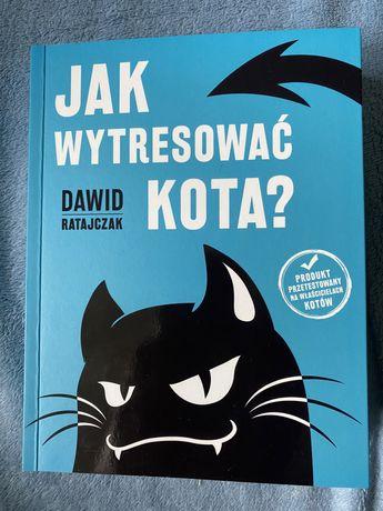 "Książka ""Jak wytresować kota?"" D.Ratajczak"
