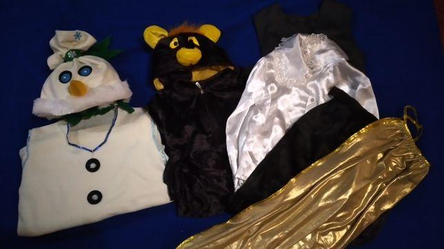 Пакет карнавальных костюмов на мальчика 6-8 лет