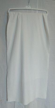 Накидка - шарф, молочний колір