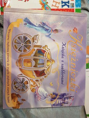 Książka z szablonami Księżniczki