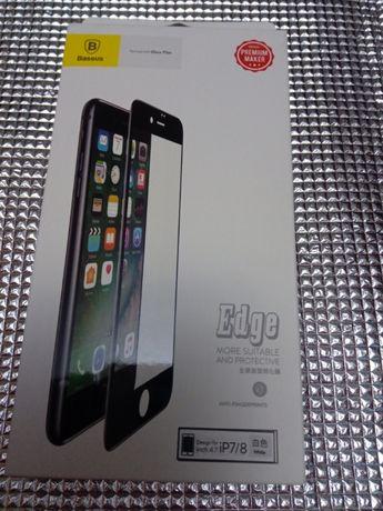 Защитное Стекло Baseus 3D Для IPhone 7/8 White