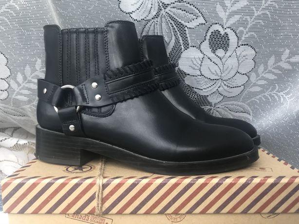 Женские демисезонные ботинки pull & bear 37 размера