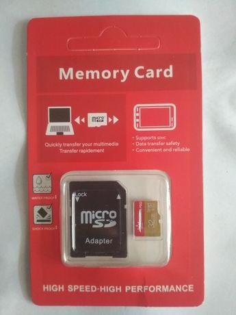 MicroSD флеш-накопитель объемом 32Gb