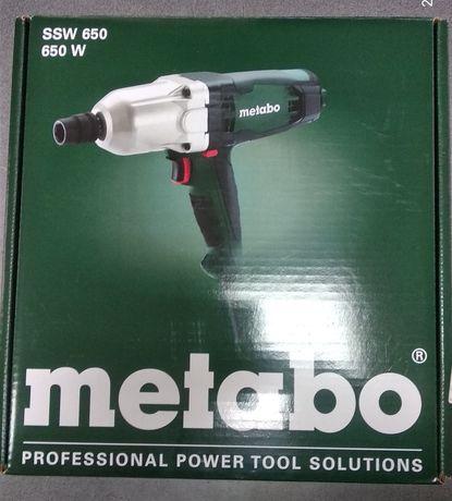 Гайковерт Metabo SSW 650 (602204000)