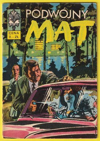kapitan Żbik - Podwójny mat - 1970 - pierwsze wydanie