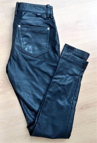 spodnie skórzane XS/S, Tommy Hilfiger, Tommy Jeans