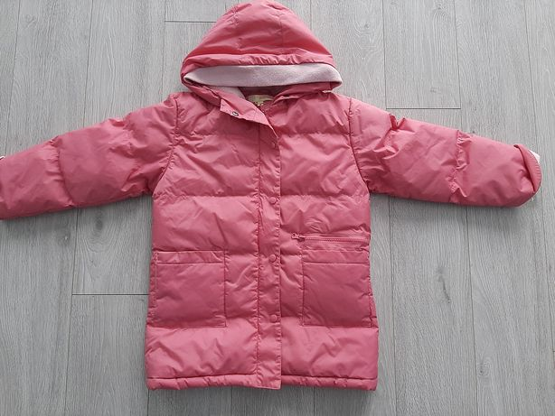 Kurtka zimowa dla dziewczynki 128-134