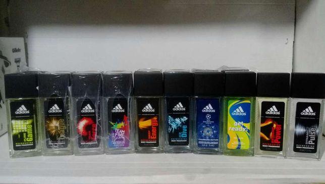 Adidas body spray 75 ml. COTY Испания.