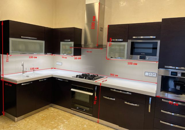 Продам кухню Veneta Cucine с техникой б/у