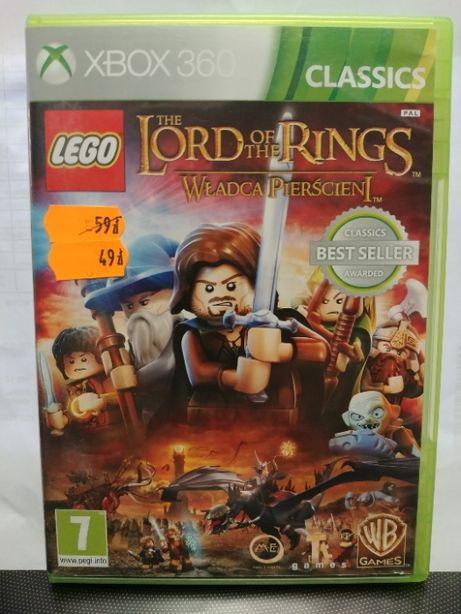 Lego Władca Pierścieni (THE LORDS OF THE RINGS) gra na Xbox 360