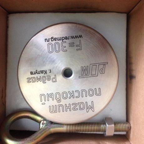 Поисковый Магнит Ф 300, металошукач, металлодетектор. Пошуковий магніт