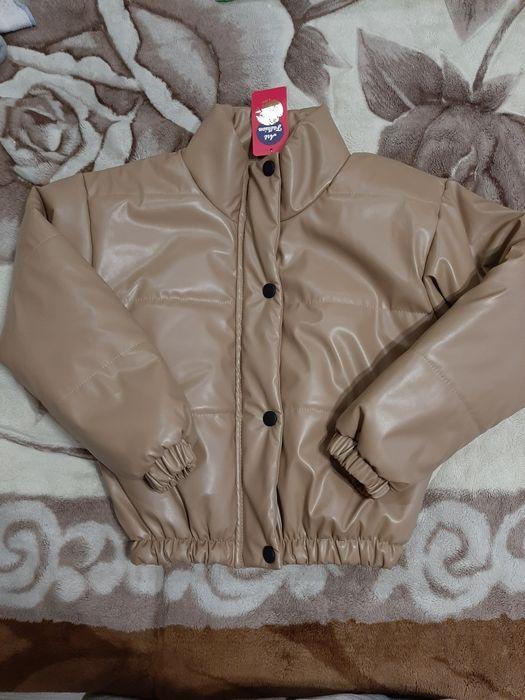 Модная демисезонная курточка из экокожи Лозовая - изображение 1