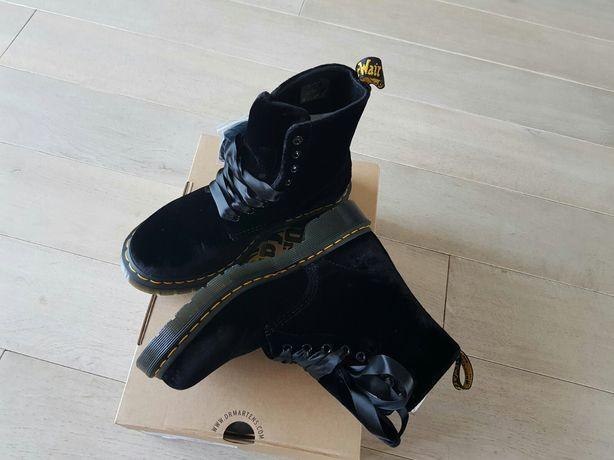 Ориганал dr. martens, роскошные ботинки pascal velvet Р. 37, 38, 41