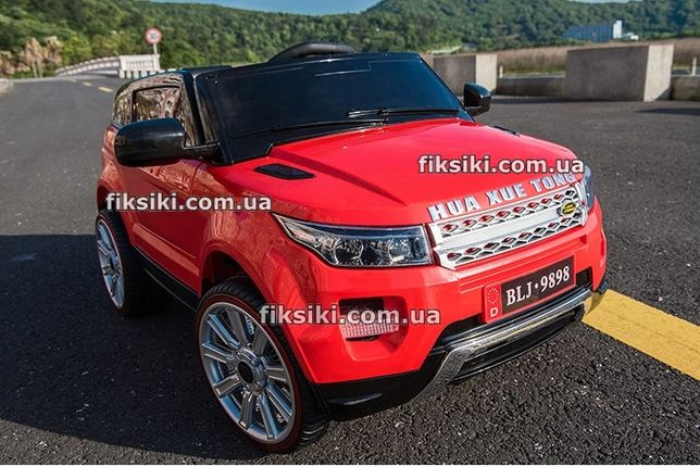 Детский электромобиль T-783 RED Range Rover, Дитячий електромобiль