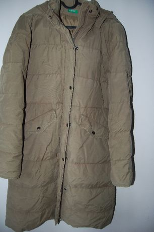 kurtka - płaszcz zimowy benetton, M