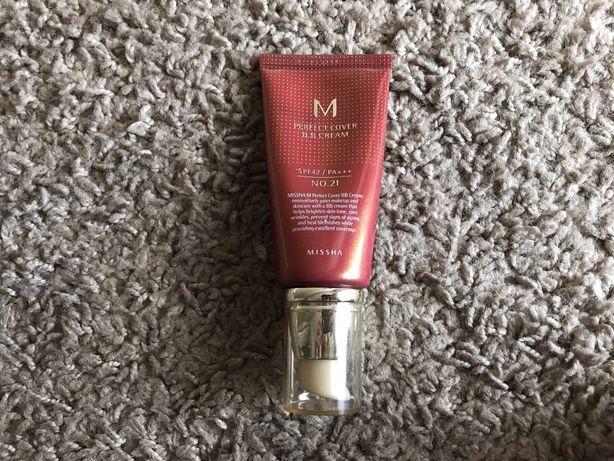 Missha M Perfect Cover BB Cream SPF42/PA+++ 21 Light Beige 50ml krem