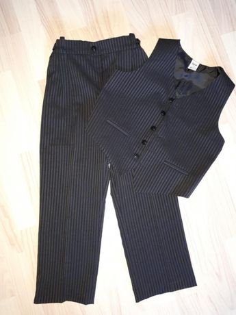 Komunia Garnitur, spodnie i kamizelka r.128