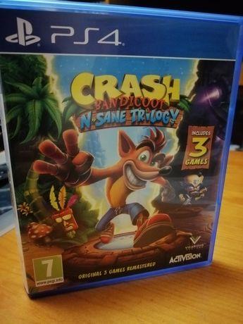 Crash bandicoot n-sane trilogy ps4